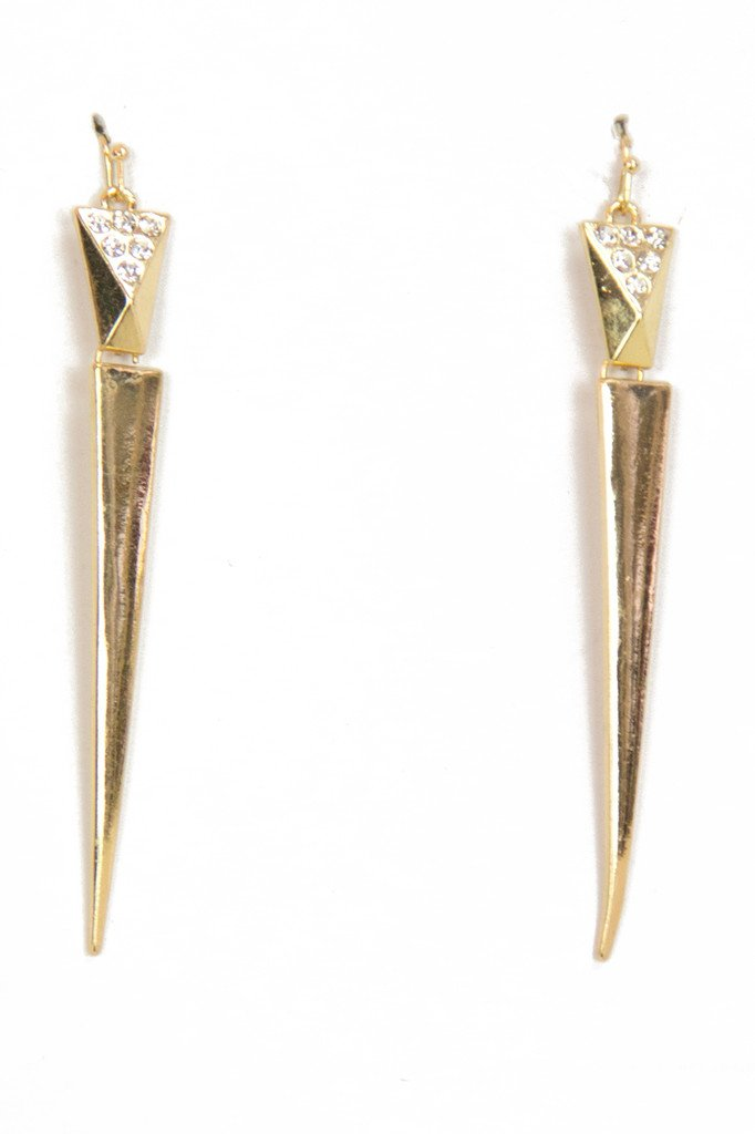MIA EARRINGS - Gold - Haute & Rebellious