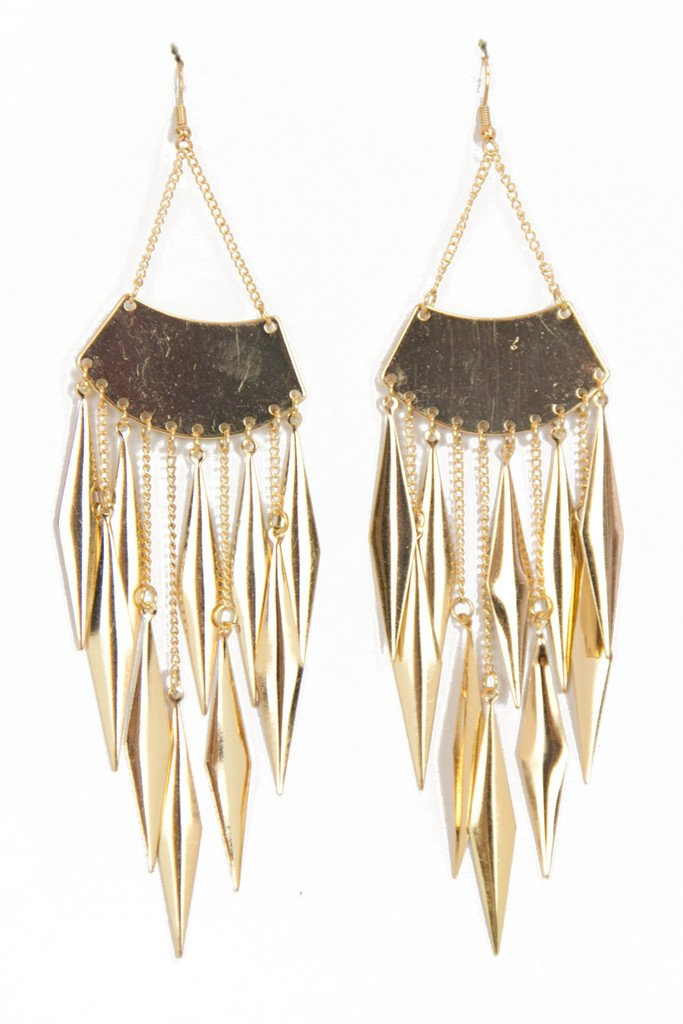AVERY GOLD EARRINGS - Haute & Rebellious