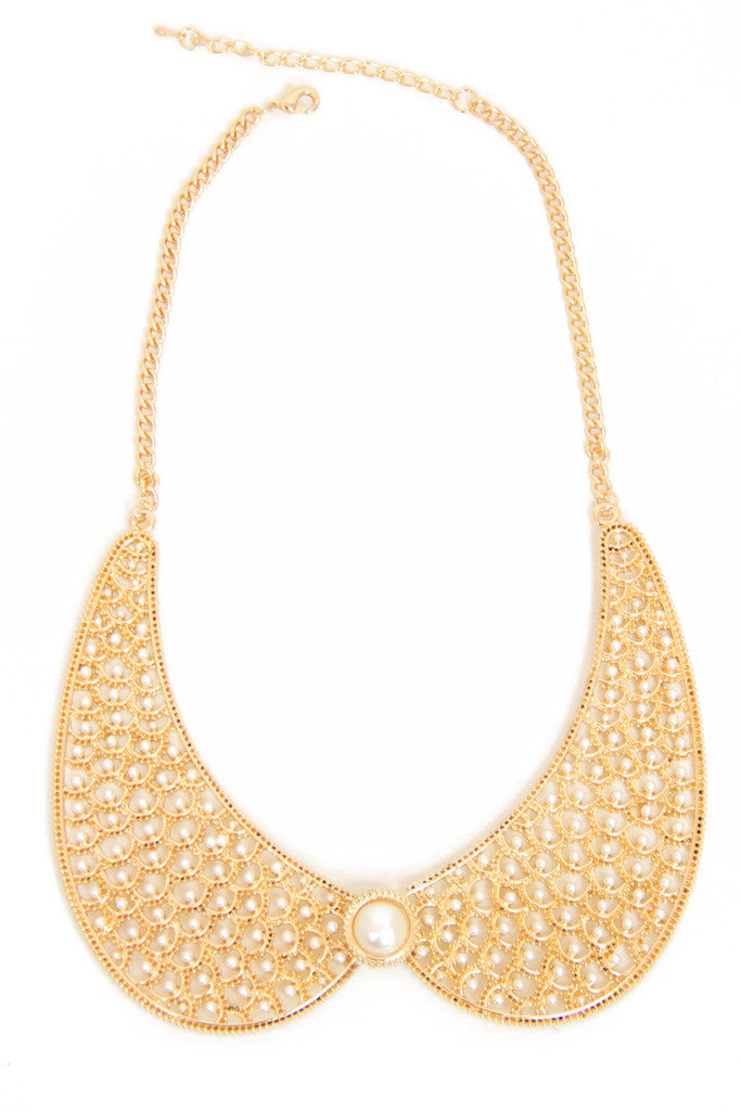 PEARLS COLLAR NECKLACE