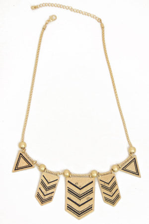 JAROW GOLD NECKLACE - Haute & Rebellious