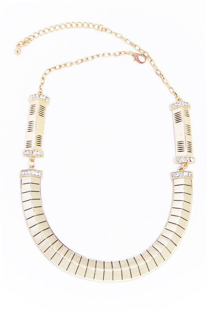 CHOLE NECKLACE - Gold (Final Sale)