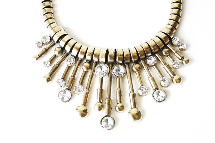 KAMILAH NECKLACE - gold