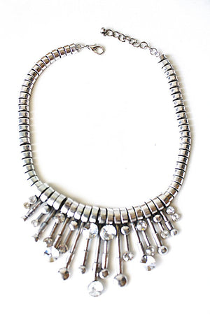 KAMILAH NECKLACE - silver - Haute & Rebellious