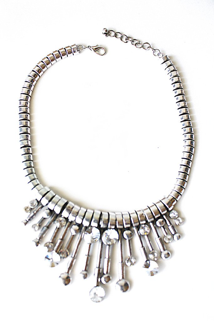 Haute & Rebellious KAMILAH NECKLACE - silver in [option2]