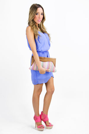 MULTI-COLOR WOOD HANDLE CLUTCH - Haute & Rebellious