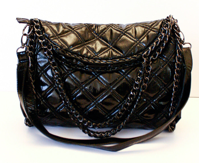 QUILTED CHAIN BAG - Haute & Rebellious