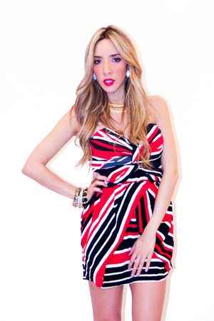 LISA STRIPES DRESS (Final Sale) - Haute & Rebellious