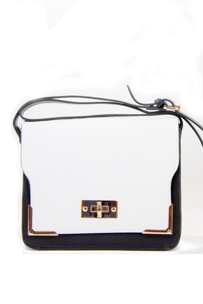 DANI BAG - Black/White - Haute & Rebellious