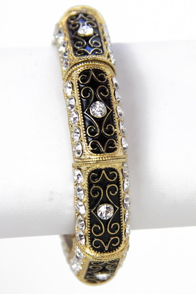 BLACK & GOLD BRACELET - Haute & Rebellious