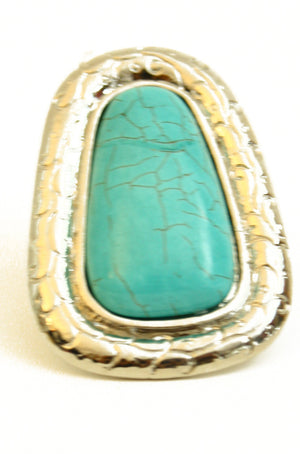 Haute & Rebellious TURQUOISE STONE RING in [option2]