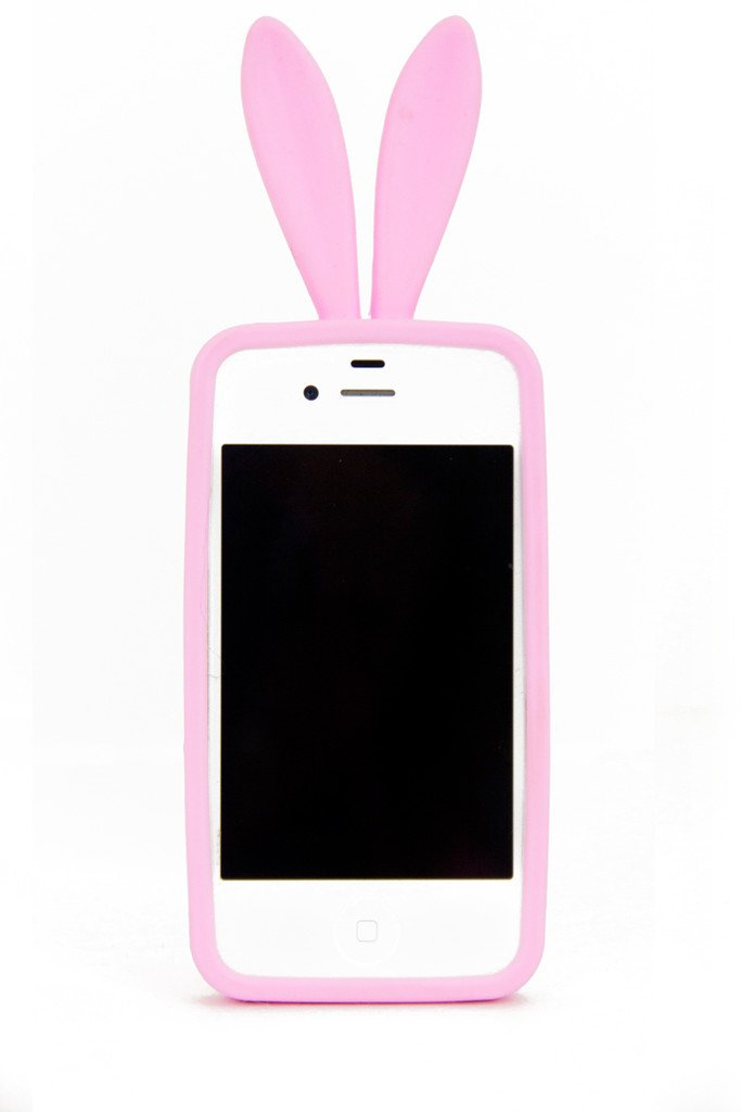 BUNNY EARS IPHONE COVER - Cotton Candy