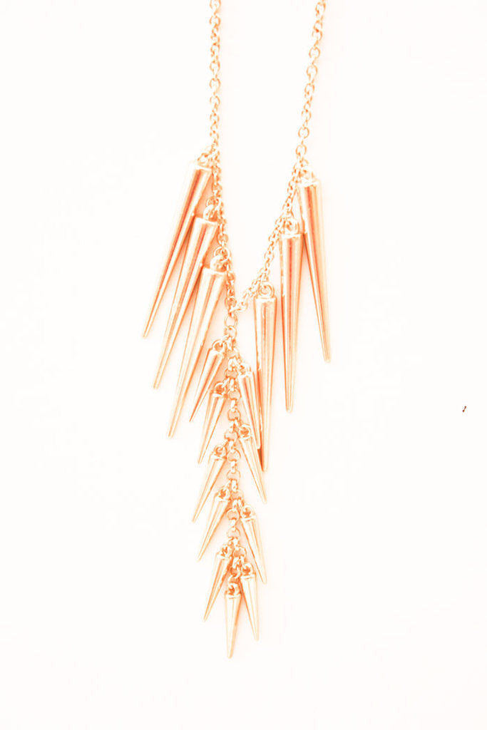 SPIKE NECKLACE- LONG