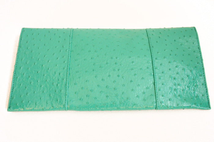 TURQUOISE ENVELOPE CLUTCH
