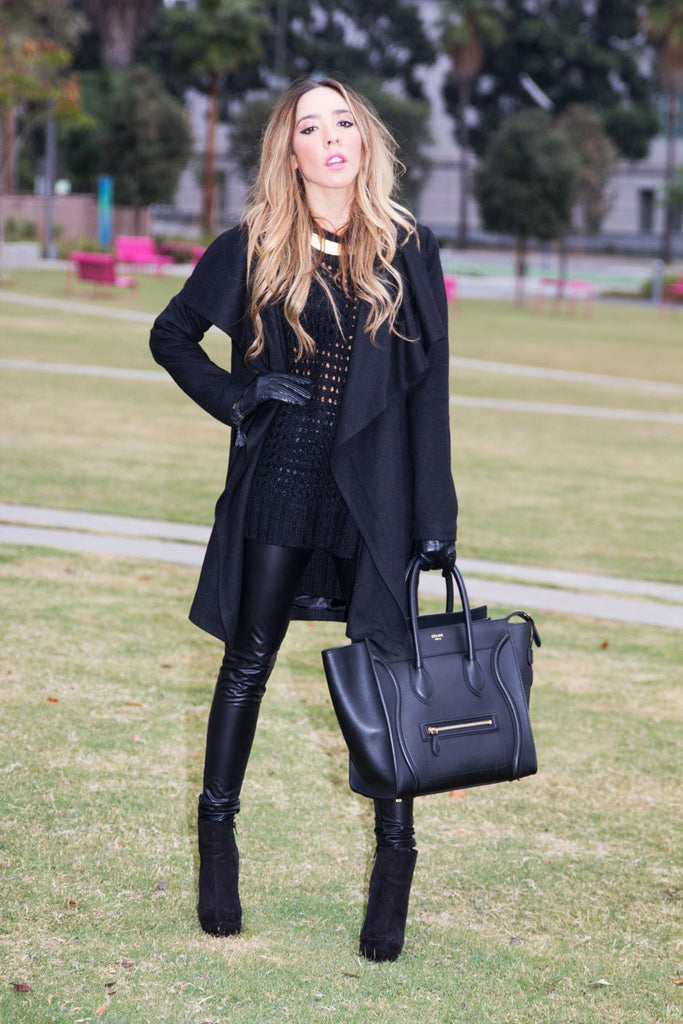 CHLOE COAT - Black - Haute & Rebellious