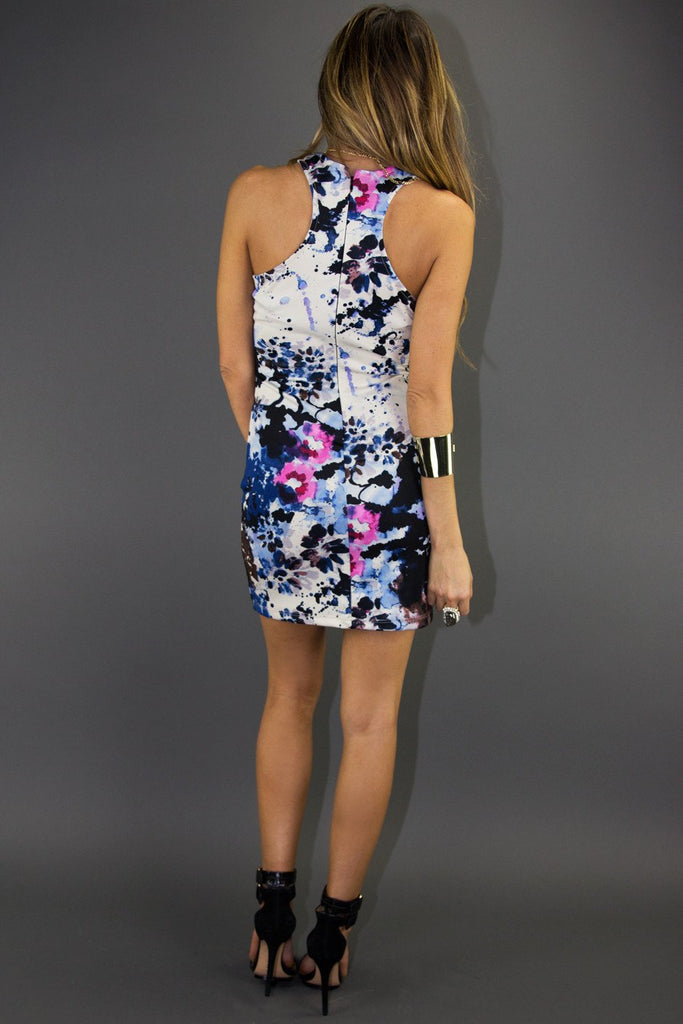 ALANA FLOWER PRINT DRESS