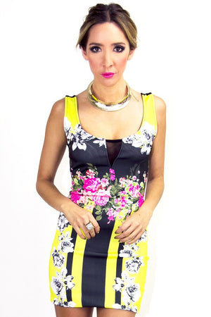 BETTY FLOWER PRINT DRESS - Haute & Rebellious