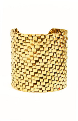 Haute & Rebellious GOLD METAL CUFF in [option2]