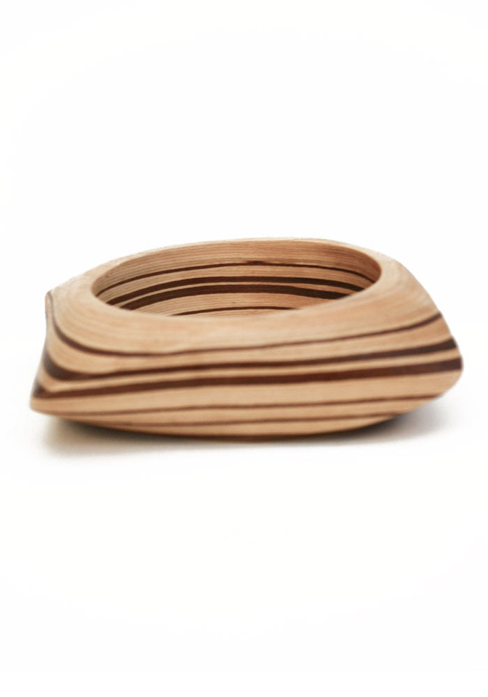 SQUARE WOODEN BRACELET - Haute & Rebellious
