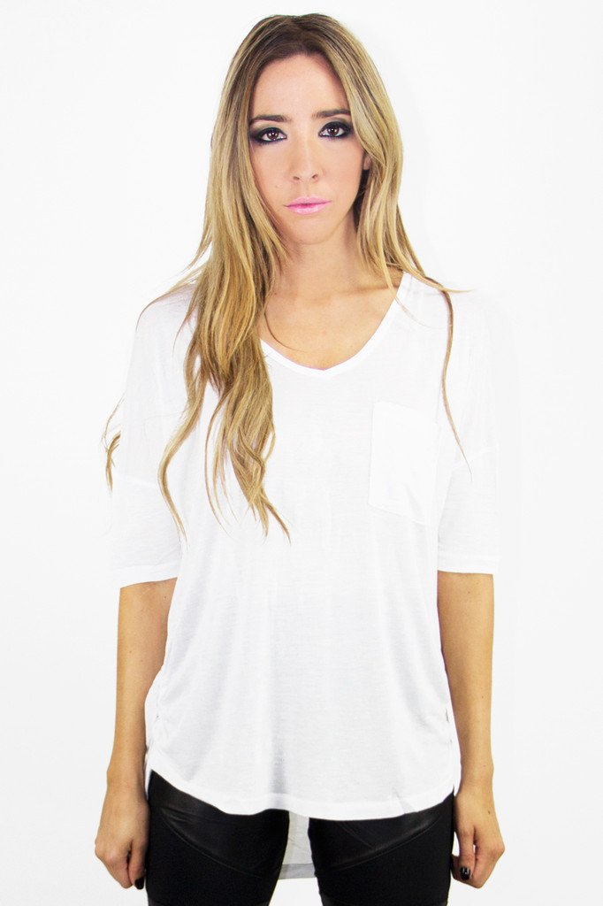 JACOB JERSEY TEE - White