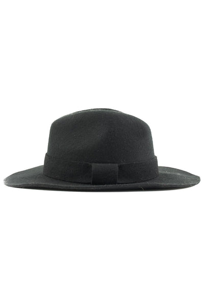 FLOPPY FEDORA - Black - Haute & Rebellious