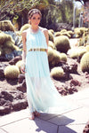 FARAH MAXI DRESS - Mint - Haute & Rebellious