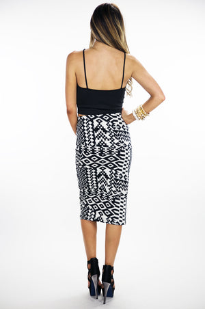 ZOE CUTOUT CROPPED TOP - Haute & Rebellious