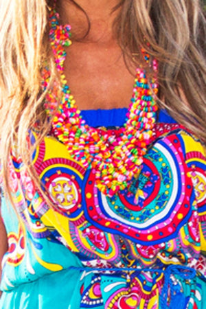 GUADALUPE NECKLACE - Multi - Haute & Rebellious