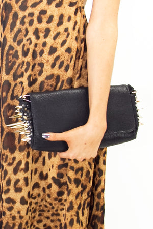SPIKED CLUTCH - Black - Haute & Rebellious