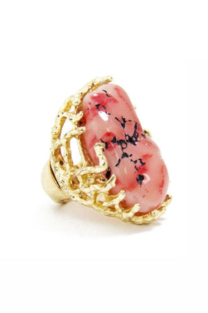 DALIA STONE RING - Haute & Rebellious