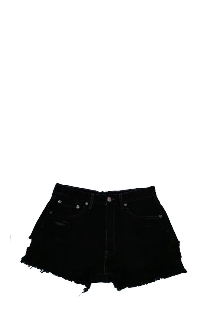 Vintage Levi's Denim Shorts - Black (Final Sale)
