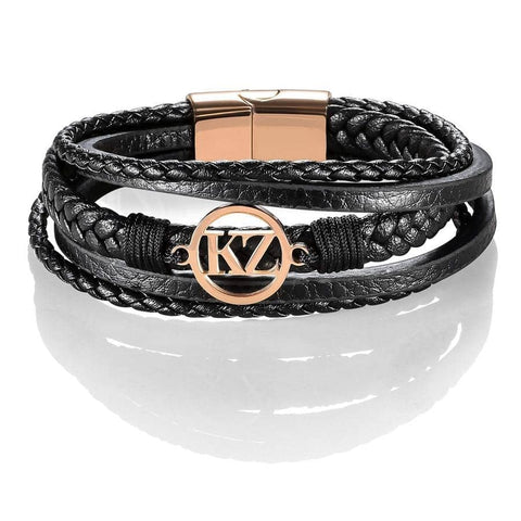 Black Grande Bracelet Rose gold