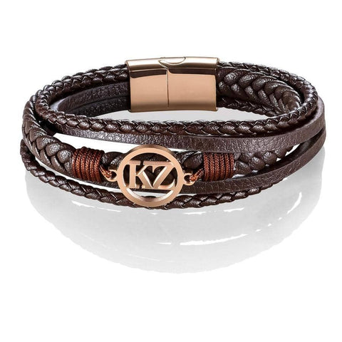 Brown Grande Bracelet Rose gold