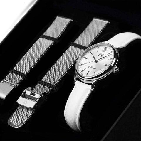 Petite Watch White