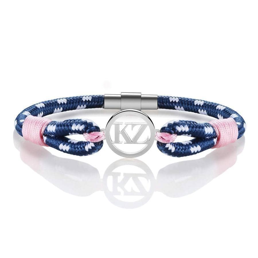Pink Patterned Bracelet Steel