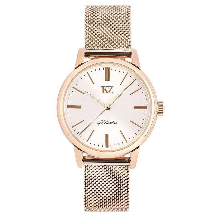 Rose Gold Petite Watch White