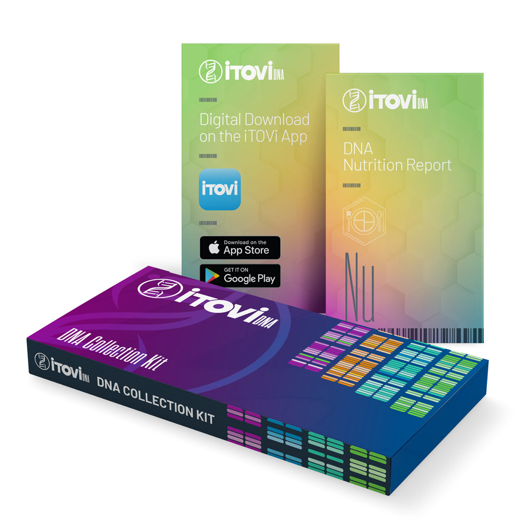 iTOVi DNA Collection Kit + Nutrition Report Bundle