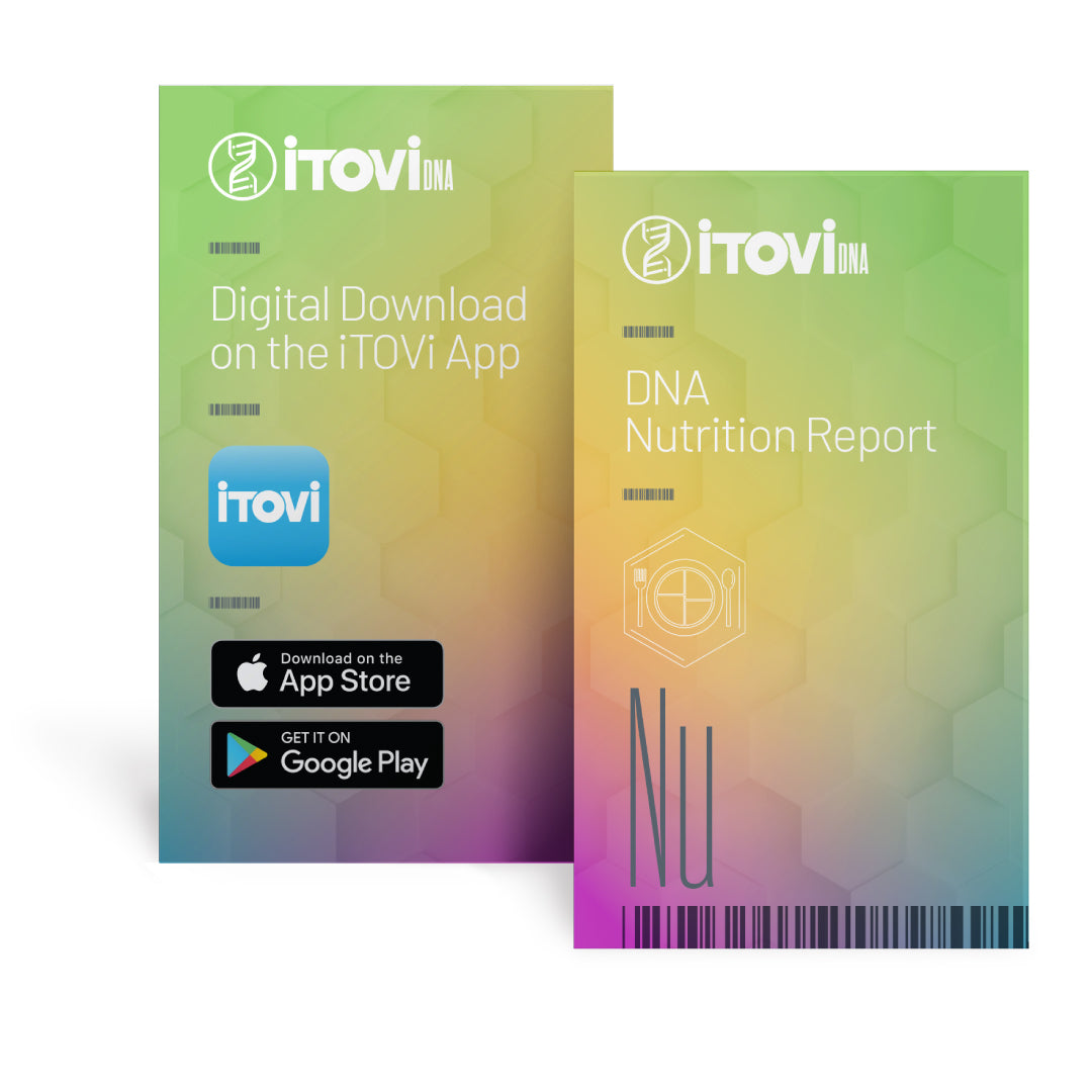iTOVi DNA Collection Kit + Beauty, Fitness & Nutrition Reports