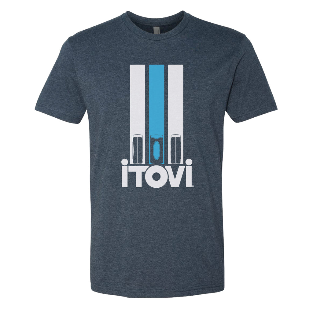 iTOVi Racer Blue - Mens Shirt