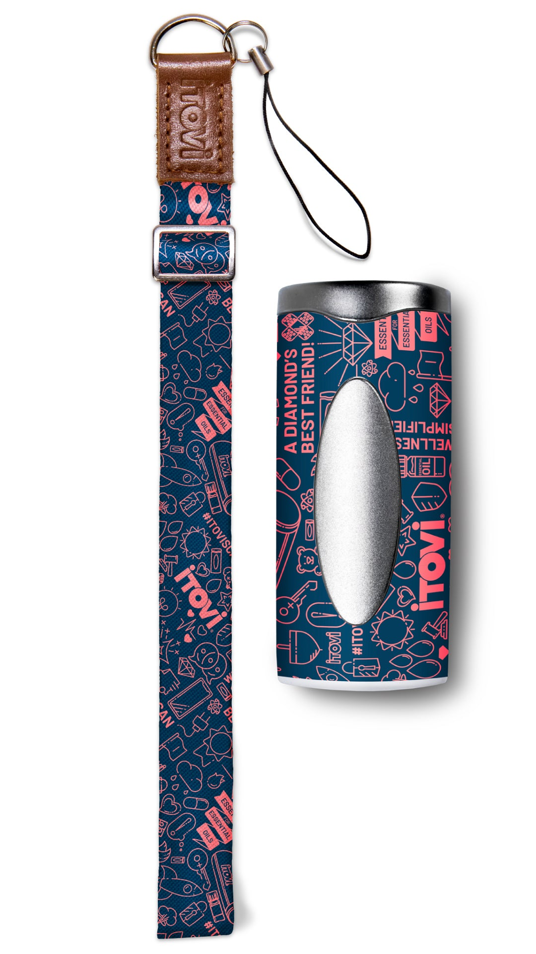 Icon Pattern Lanyard