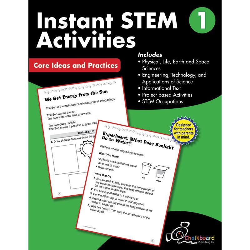 Gr1 Instant Activities Workbook Stem