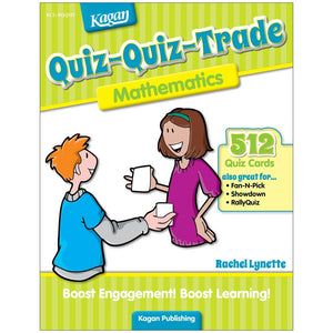 Quiz-quiz-trade Mathematics Gr 2-4