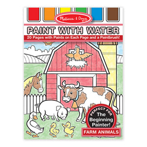 (5 Ea) Paint W- Water Farm Animals