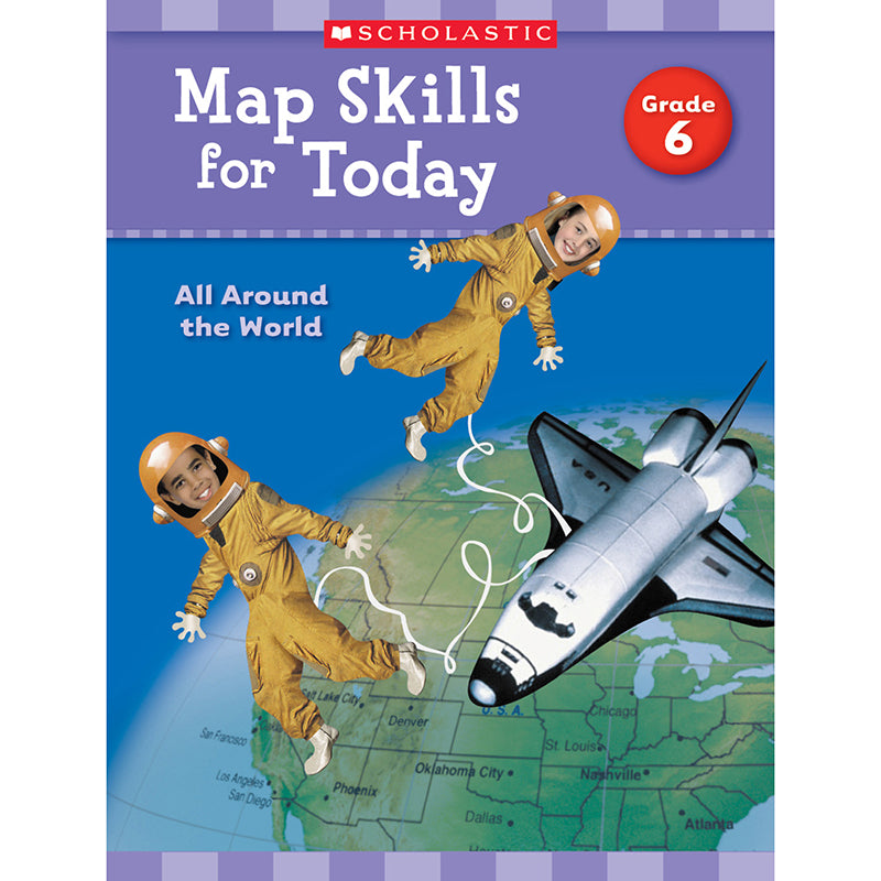 Map Skills For Today Gr 6