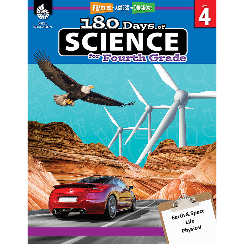 180 Days Of Science Grade 4