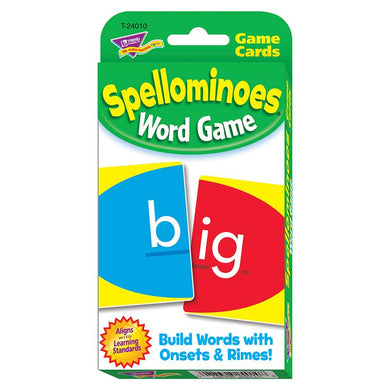 Challenge Cards Spellominoes
