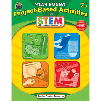 Year Round Gr 2-3 Project Based Activities For Stem