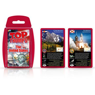 The United States Top Trumps Card Game
