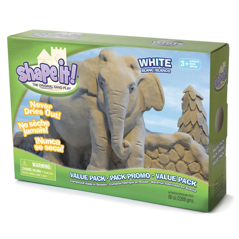Shape It White 5 Lb Box