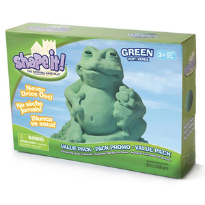 Shape It Galaxy Green 5 Lb Box