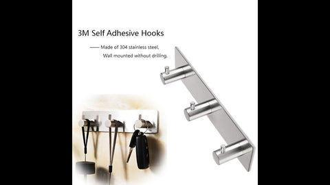 Constructed of premium stainless steel with smooth & nice finish, durable and sturdy